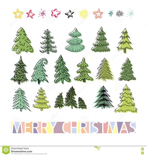 Trees Collection Of Design Elements Vector Illustration Cartoondealer Com 23329324 Tree Collection Of Design Elements Stock Vector Illustration Of Icon Botany 32428346