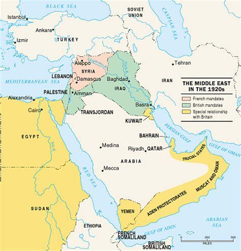 middle east map in 1920 map of middle east 1920 middle east map