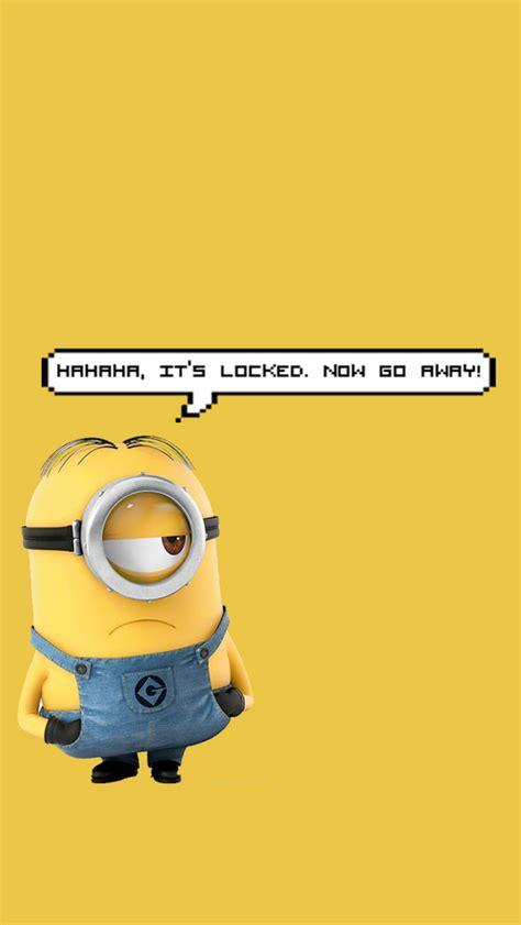 minion pattern lock screen cute minion lock screen wallpaper www pixshark com