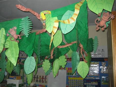 jungle theme classroom decorations rainforest classroom rainforest