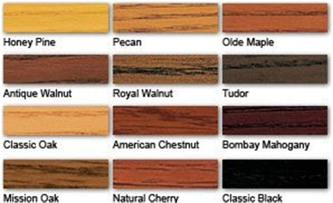 minwax polyshades colors minwax stains and stain colors on