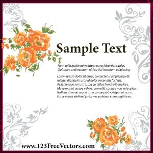 wedding invitation card design template free wedding invitation card design vector freevectors net