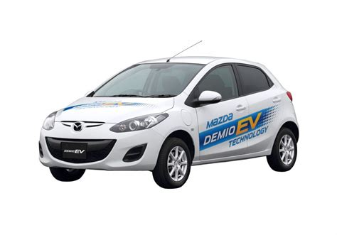 mazda motor cars mazda to offer all electric mazda2 in japan for lease only