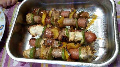 come cucinare spiedini di carne spiedini di carne basta barbecue sano e gustoso