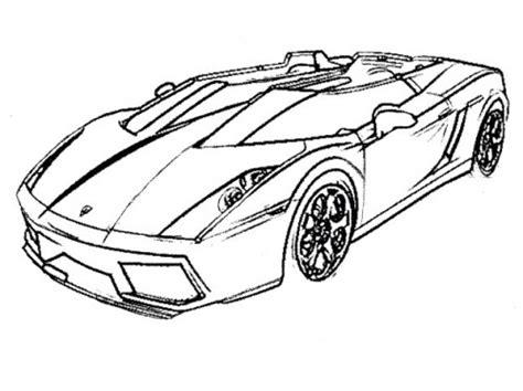 racing car lamborghini coloring page activities