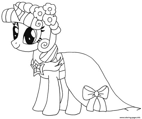 princess twilight sparkle   pony coloring pages