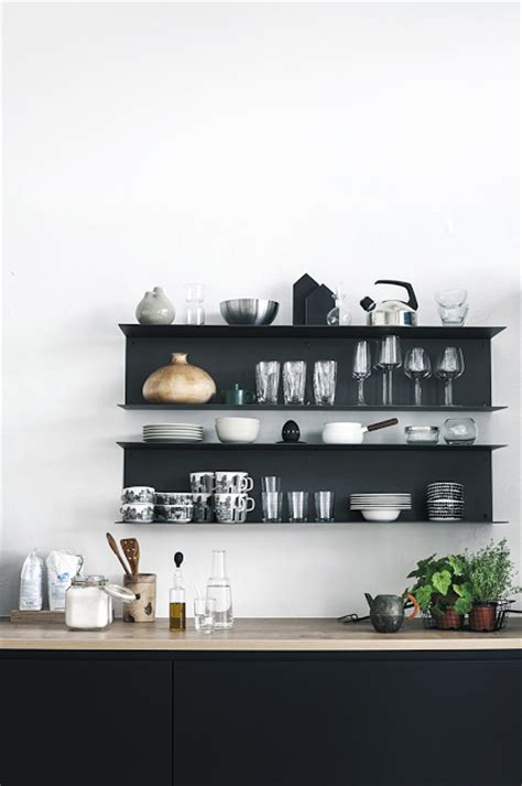 open wall shelves 65 ideas of using open kitchen wall shelves shelterness