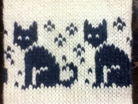 Ravelry Cat Chart Pattern By Wu жаккард забавный