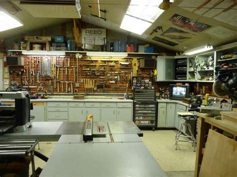 ultimate workshop layout reed s woodshop shop tours fine woodworking