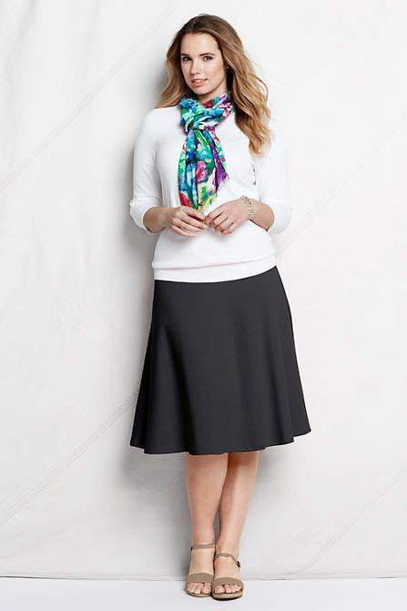 7 Skirts For End Of Summer by S Sport Knit Skirt