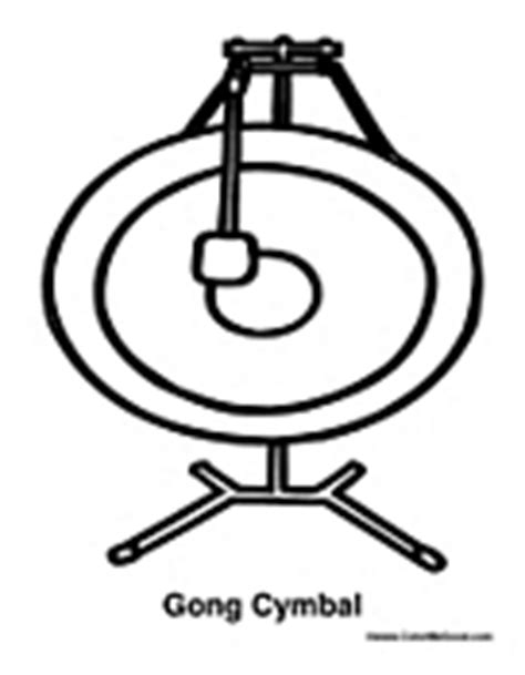 chinese instruments coloring pages percussion coloring pages