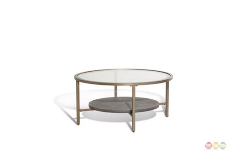 heavenly casual coffee table with glass top and gold