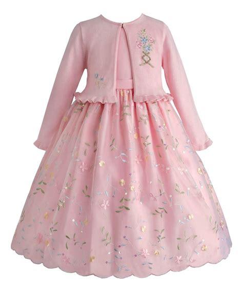 Dress Cardigan Baby Pink pink floral dress cardigan infant toddler