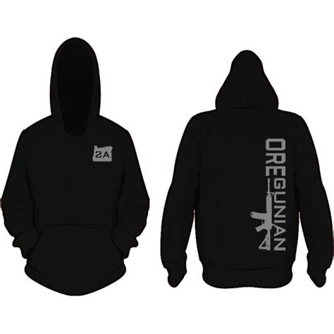 Jaket Hoodie Homecoming Hitam or2a logo sticker oregun shooters