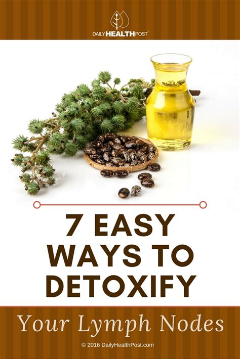 How To Detox Your Lymph Nodes by 7 Easy Ways To Detoxify Your Lymph Nodes