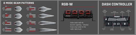 rigid industries led light bar review high tech truck lighting rigid industries adapt light bar
