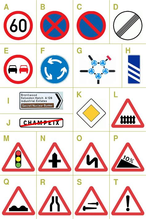 Printable European Road Signs | pinterest the world s catalog of ideas