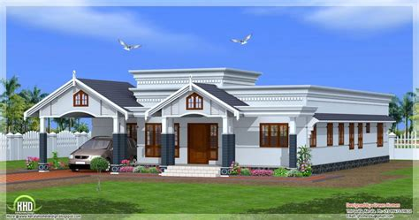 kerala home plan single floor best of single floor 4
