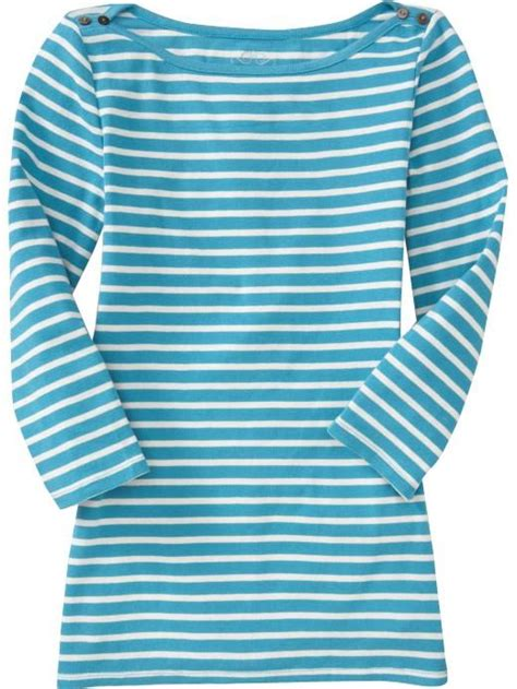 old navy boat neck old navy women s 3 4 sleeve boat neck tops boat necks