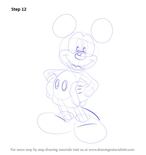 learn how to draw mickey mouse step by step easy drawing learn how to draw mickey mouse mickey mouse step by step
