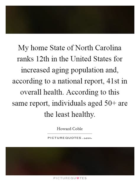 my home state of carolina ranks 12th in the united