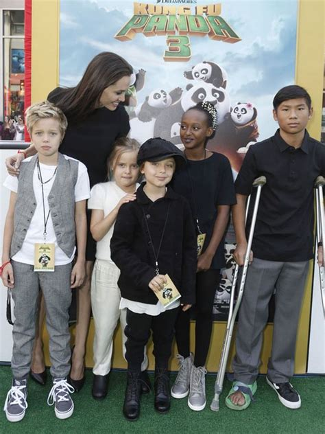 Brangelina Happily Welcomes Vivienne Marcheline by Inside The Chaos Of Brad Pitt And S