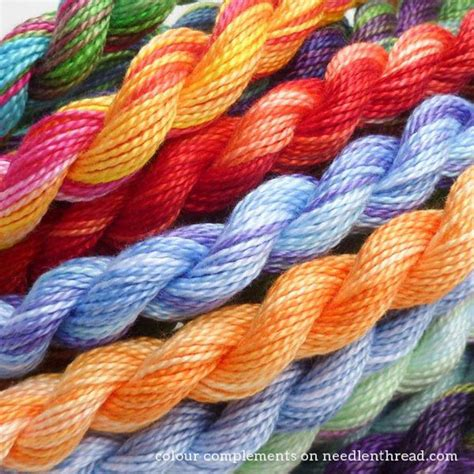 color complements colour complements winner and an update needlenthread