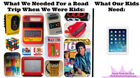 most popular things for kids 4 ways family road trips have changed since gen xers were