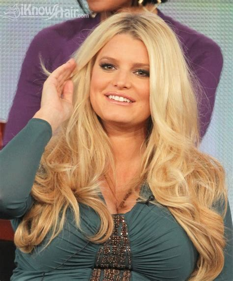 pictures of using jessica simpsons hair extensions on short hair jessica simpson hair extensions are they worth it