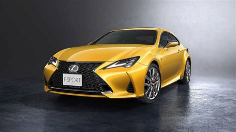 Lexus 2019 Rc lexus rc facelifted for 2019 still looks incohesive