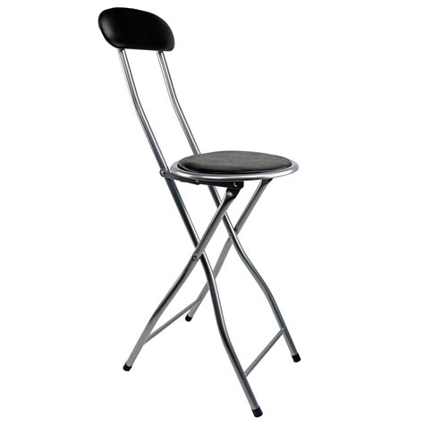 black padded bar stools new black padded folding high chair breakfast kitchen bar