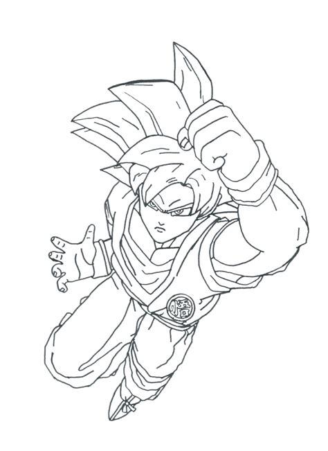 dragon ball z super saiyan god coloring pages goku super saiyan god lineart by toni987 on deviantart