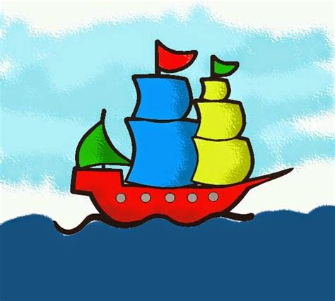 belajar mewarnai kapal layar kuno belajar menggambar dan mewarnai