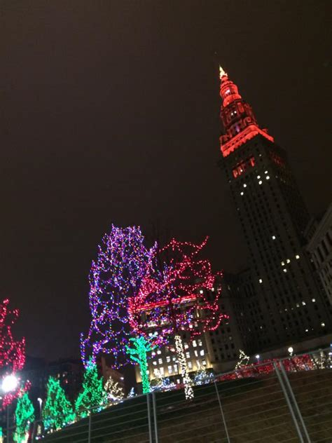 cleveland christmas lights 5 10 public square tinny time