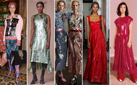 new trends 2017 pre fall 2017 trends sequins