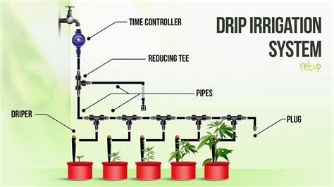 drip irrigation diagram drip irrigation system schematic schematic diagram of