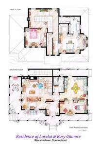 house and floor plans house of lorelai and rory gilmore floorplans by nikneuk on deviantart