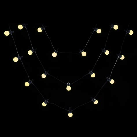 large outdoor string lights 20 large connectable static outdoor string lights lv