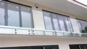 Balcony Balustrade Frameless Glass Balcony Balustrade Sheffield