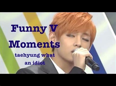 bts funny moments funny moments bts v bangtan bomb weekly idol