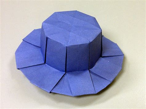 How To Make Origami Cap - origami hats tag hats