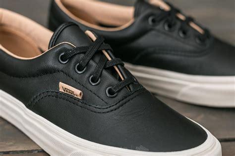 Vans Era Black Brown brown leather vans era