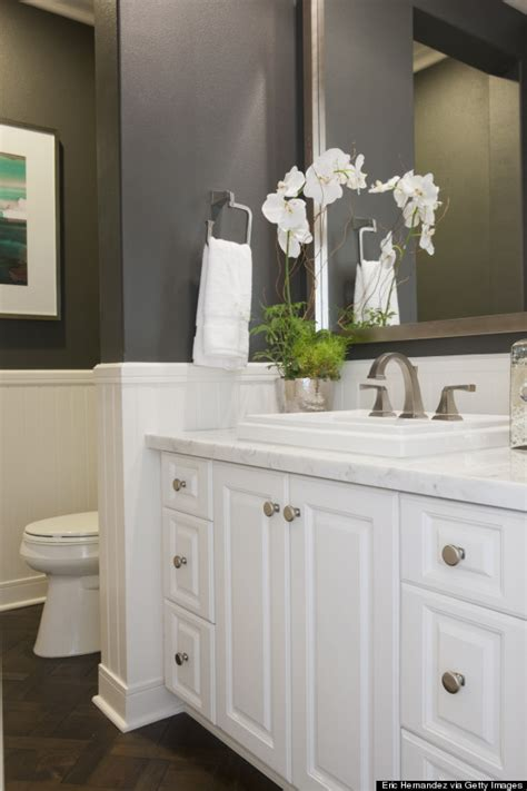 white and gray bathroom ideas the 6 bathroom trends of 2015 are what we ve been