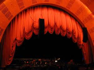 radio city music hall curtain theater curtain photos