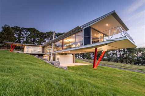 clever house design ideas batman bridge house in tasmania clever design