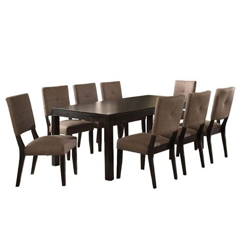 Black Wood Dining Room Set Brown Wood Dining Set Dining Room Sets Kitchen Dining Family Services Uk