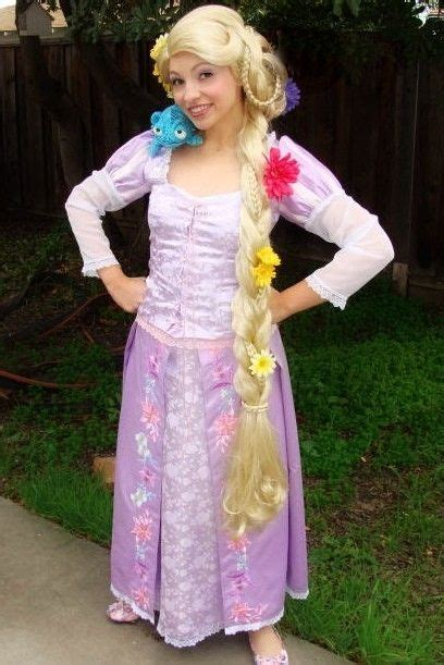 hand crafted rapunzel tangled adult custom costume