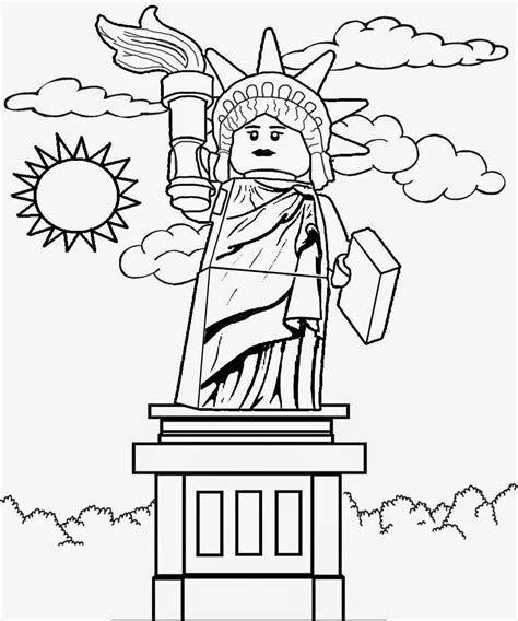 coloring pages lego minifigures online free color and print pictures of lego sculpture