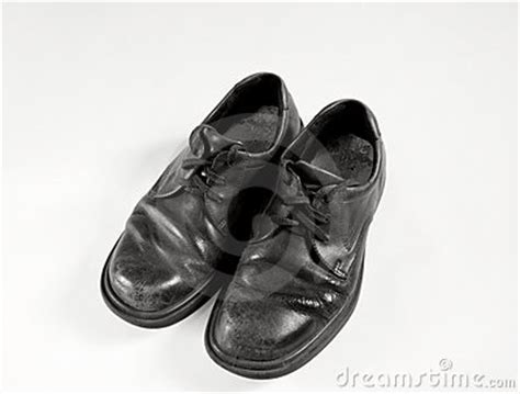 black and white school shoes school shoes in black and white stock images image