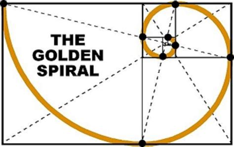 Golden Section Spiral by The Golden Spiral Watercolorpainting